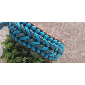 BENNOS HAPPINESS HALSBAND - DONKER CYAN