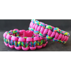 PINK - MULTI COLOUR COBRA ARMBAND