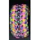 3D - kleuren armband met kralen