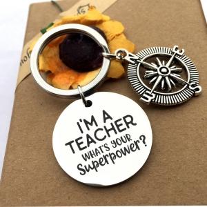 I'AM A TEACHER sleutelhanger
