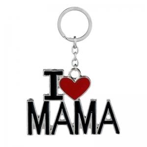 I Love Mama  / I love Papa sleutelhanger